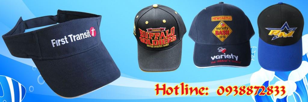 Một số mẫu nón thông dụng